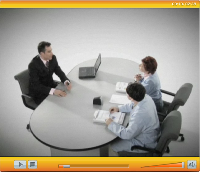 SAP CRM video clip. Localization and dubbing in Russian
